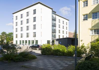 Esteetön Einola-asuntolarakennus Järvenpää