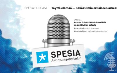 Täyttä elämää -podcastsarja erilaisen arjen äärellä